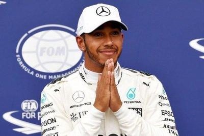 Lewis Hamilton logra un nuevo récord