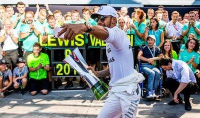 Lewis Hamilton gana con enorme claridad el Gran Premio de Italia