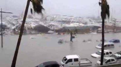 """""""Irma"""" está más calmada pero sigue haciendo lío"""