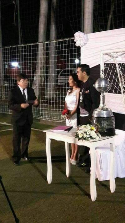 Se casaron con la Copa Libertadores