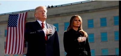 Trump conmemoró un nuevo aniversario más del 11-S