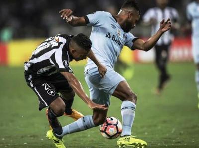 Botafogo y Gremio no se sacan ventaja