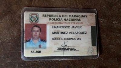 Cae agente policial involucrado en un robo de G. 210 millones