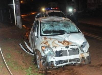 Un día después de comprar su vehículo sufre accidente