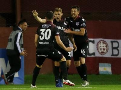 Lanús se metió a las semifinales de la Copa Libertadores