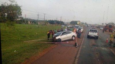 Trágico accidente sobre la ruta 7: Dos muertos