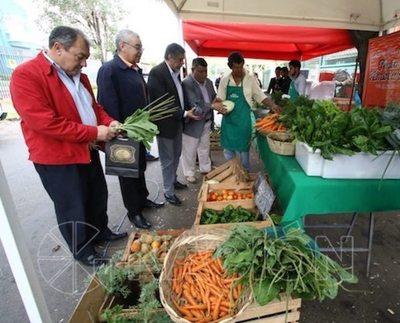 Frutas y verduras frescas, directo de la chacra