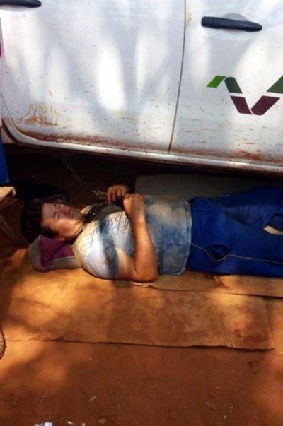 Protestas y huelga contra el Indert suben de tono en colonia Sta. Lucía