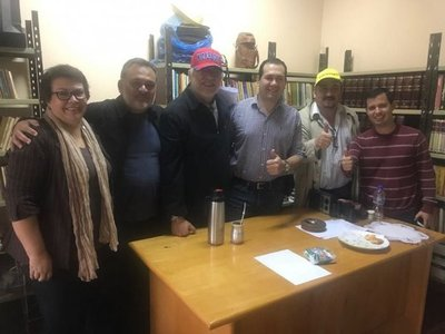Lugo y Pereira dan apoyo a candidato por Itapúa