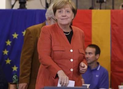 Cómodo triunfo de Angela Merkel