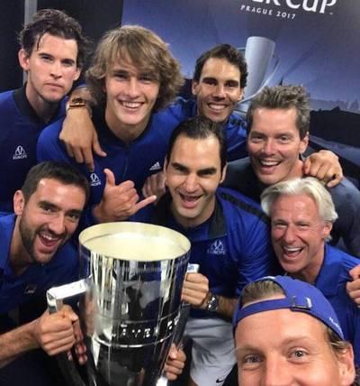 Europa se queda con la Laver Cup