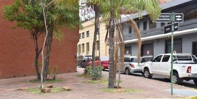 Abundan obras sin ochavas en esquinas de Asunción