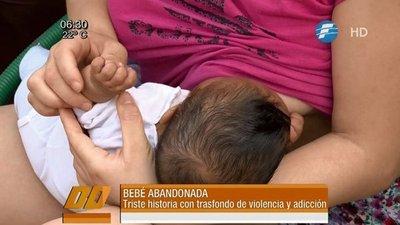 Pareja abandonó varios días a su bebé