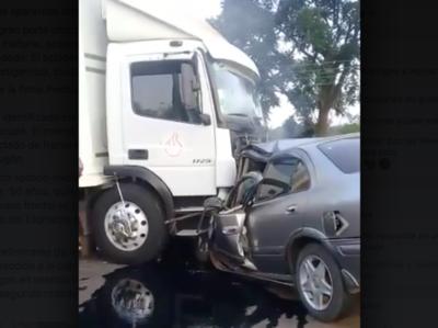 Accidente fatal en Cordillera