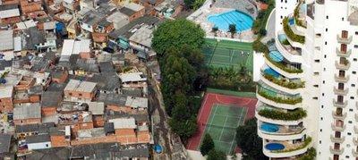 Alarmante cifras de desigualdad económica en Brasil
