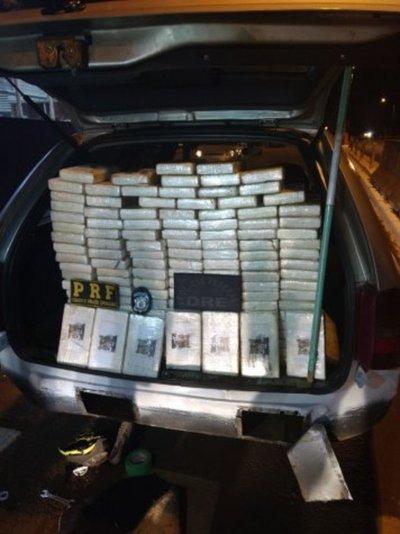 Brasil: Requisan cocaína cerca de frontera con Paraguay