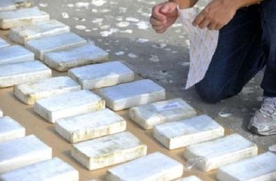 Incautan 146 kilos de cocaína