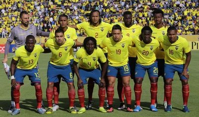 Lista de Ecuador para enfrentar a Chile y Argentina
