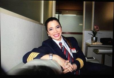 Aerolínea jubiló a primera piloto paraguaya