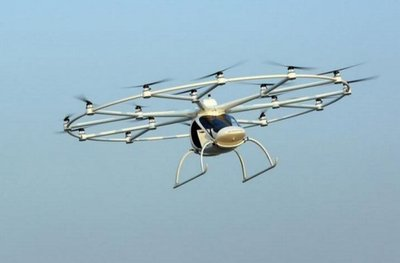 Dubái comienza pruebas con taxis voladores