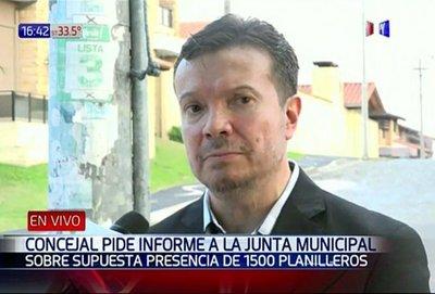 Concejal pedirá informes a Junta Municipal