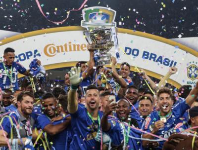 Cruzeiro, campeón de la Copa do Brasil