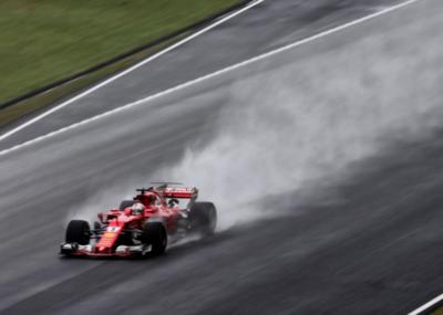 F1: Ferrari, en seco; Red Bull, en mojado