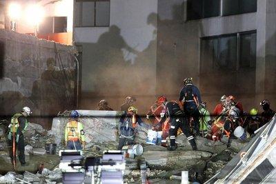 Tareas de rescate tras sismo enMéxico continúan