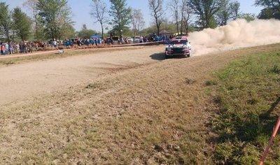 Didier Arias gana la segunda etapa del Transchaco Rally 2017