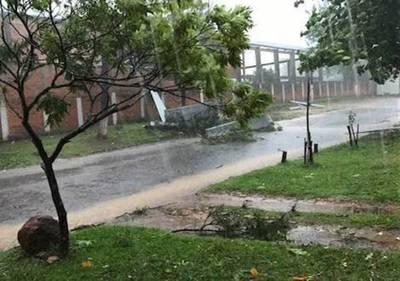 Tormenta causó un fallecido en Caaguazú