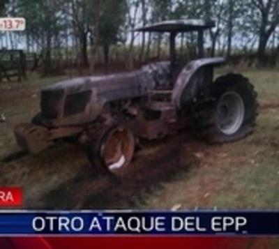 EPP vuelve a quemar tractores