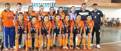 Hernandariense es subcampeona nacional en futsal femenino