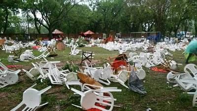 """Tobatí: """"De golpe fue… la gente estaba asustada y se movilizó como pudo"""""""