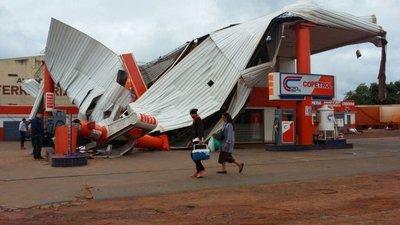 Alto Paraná: Más de 1.000 familias afectadas