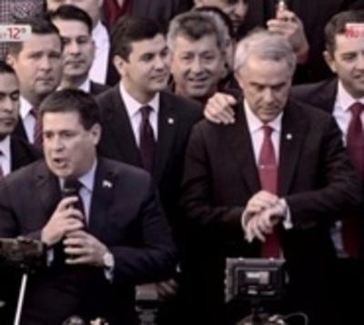 "Cartes afirma que es momento del ""abrazo republicano"""