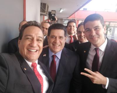 """""""Voy a ser el primer gobernador colorado de Central"""", vaticina Hugo Javier"""