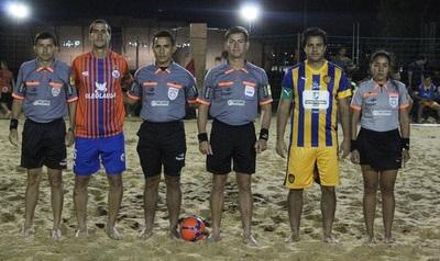 Esta noche se abre la sexta fecha del Metropolitano de Fútbol Playa