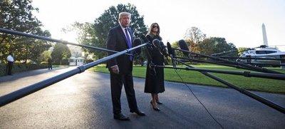 Trump parte hacia Las Vegas para reunirse con víctimas