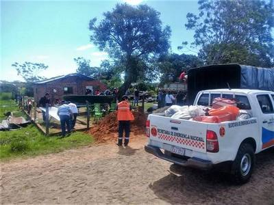 UNAS 3.500 FAMILIAS EN 11 DEPARTAMENTOS RECIBEN ASISTENCIA DE LA SEN