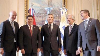 Paraguay es candidato para el 2030 junto a Uruguay y Argentina