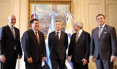 ARGENTINA, PARAGUAY Y URUGUAY OFICIALIZAN CANDIDATURA PARA MUNDIAL 2030