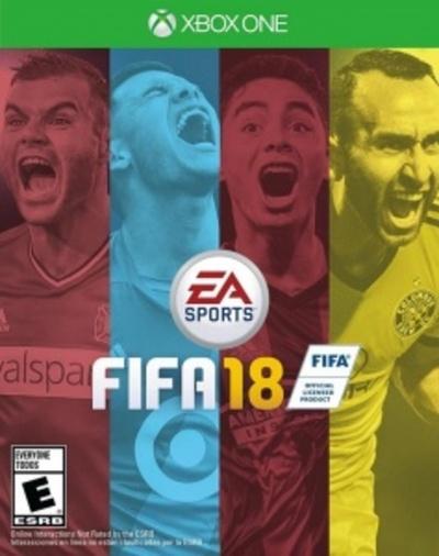Almirón en la portada americana del FIFA 18