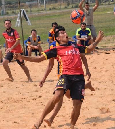Puerta del Lago y San Carlos lideres en Fútbol Playa cumplida seis fechas