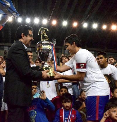 Cerro Porteño tricampeón invicto del Premium Futsal