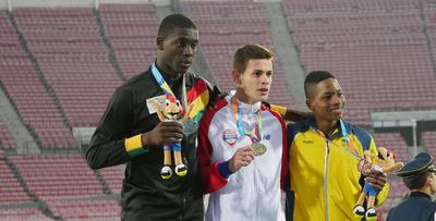 Fabrizio Aquino se alzó con el segundo oro en Santiago