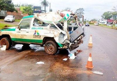 """Ambulancia, en un """"servicio político"""""""