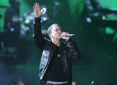 Eminem ataca a Trump en la gala de los premios BET Hip-Hop