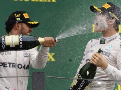 Hamilton y Rosberg no tenían buena relación