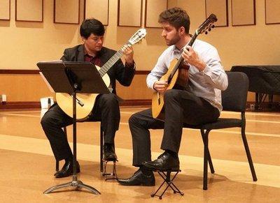 Guitarras paraguayas y exitosas en los EE.UU.