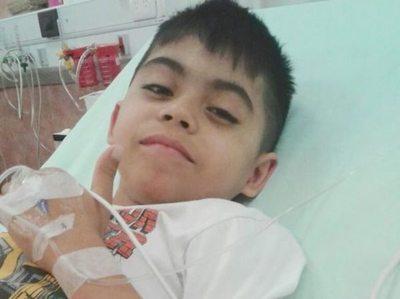 Guerrerito de 8 años pide apoyo del rollo